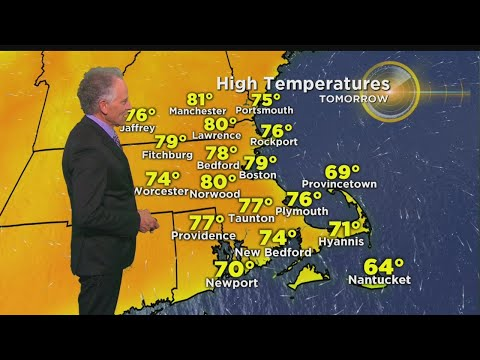 WBZ Evening Forecast For May 20