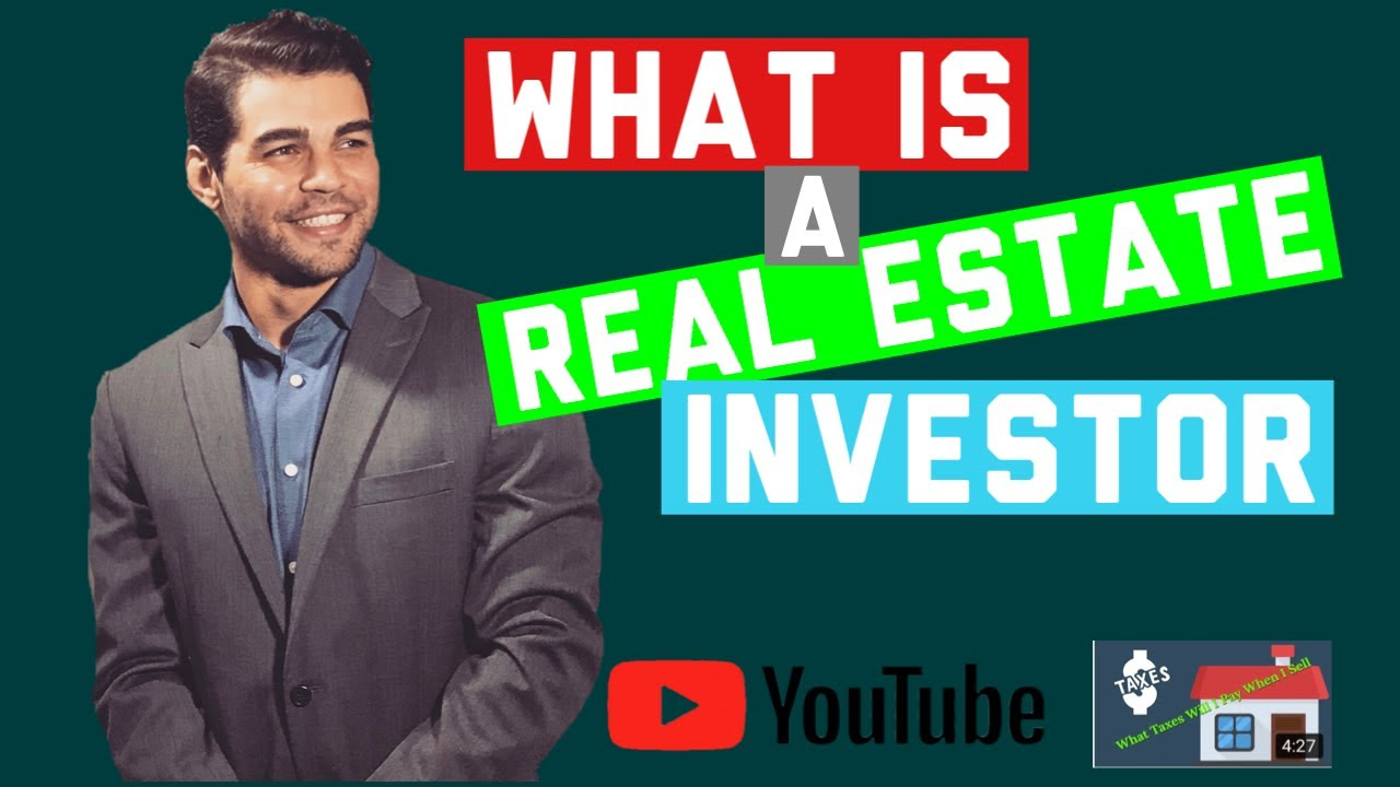 What is a real estate Investor? - Oregon Cash House Buyer - 541.502.1112