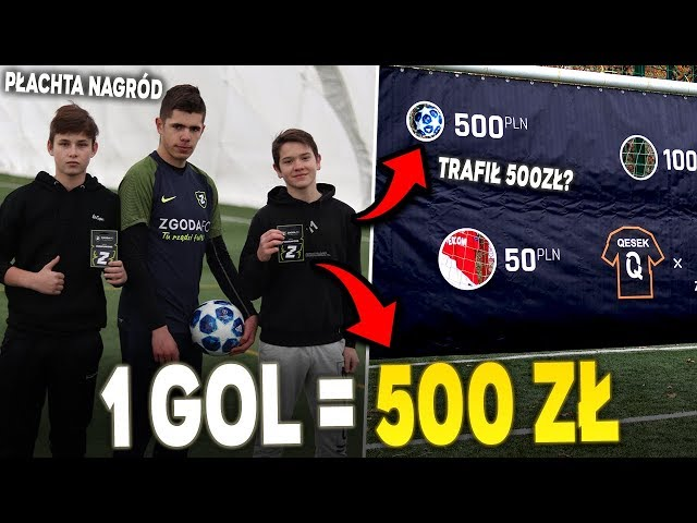 1 GOL = 500 ZŁ! PŁACHTA NAGRÓD! Widzowie zarabiają! - Odc.9
