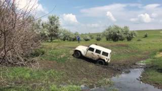 Toyota FJ Cruiser vs Jeep Wrangler Rubicon 4х4, 4WD, полный привод, на бездорожье, бездорожье Одесса