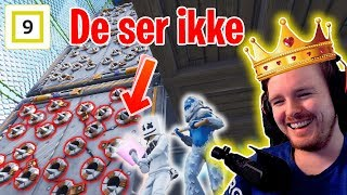 Vanskeligste Kongen Befaler Hittil?! Robs Gameshow #3 - Minigames og Deathrun i fortnite
