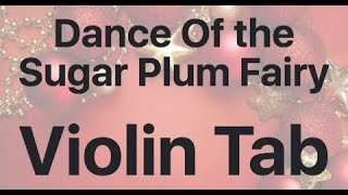 Learn Dance Of The Sugar Plum Fairy On Violin How To Play Tutorial