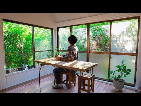 【新居公開】緑に囲まれたレトロなお家に引っ越しました。#182