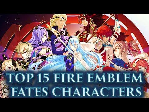 CRASHX500's Top 15 Fire Emblem Fates Characters (FE:FATES-ATHON)