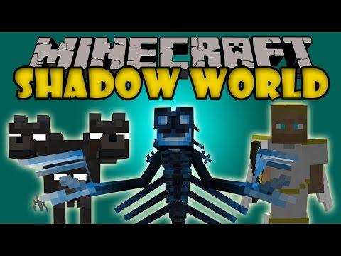 SHADOW WORLD - 3 Dimensiones, Oscuridad Extrema, armas y mas - Minecraft 1.7.2 y 1.7.10 ESPAÑOL