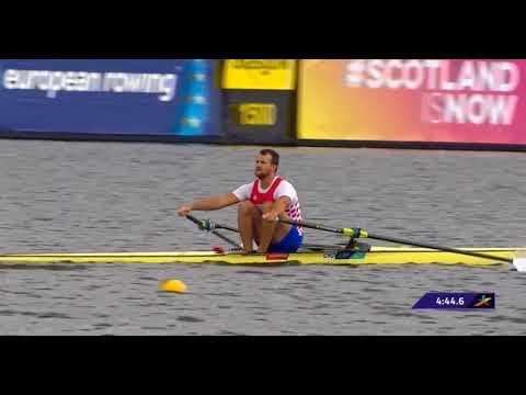 Men's Single Sculls Heat 3 European Rowing Championship 2018