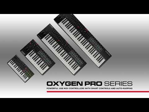 M-Audio || Introducing the All-New Oxygen Pro Series