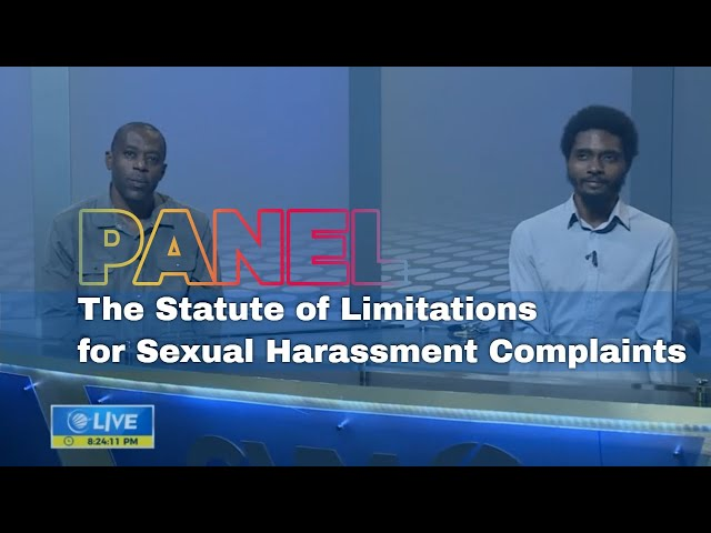 The Statute Of Limitations For Sexual Harassment Complaints | Panel Discussion | CVMTV