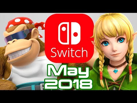 10 Nintendo Switch Games Coming May 2018!