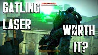 Fallout 4 - Gatling Laser - Is it Worth It?