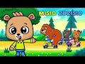 Jadą Jadą Misie - Piosenki Dla Dzieci - Misio Zdzisio