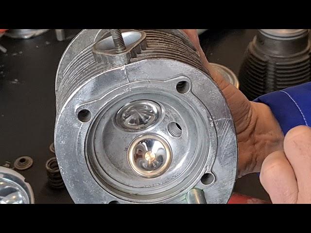Welche Teile benötigt man für einen original Steyr Puch 650 TR2 Motor?