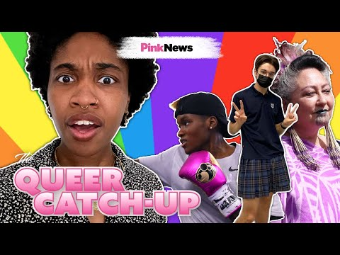 A hundred male students wore skirts to school | The Queer Catch-Up