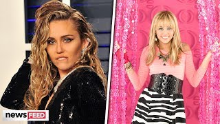 Miley Cyrus BRINGS Back Hannah Montana For 'Black Mirror'!