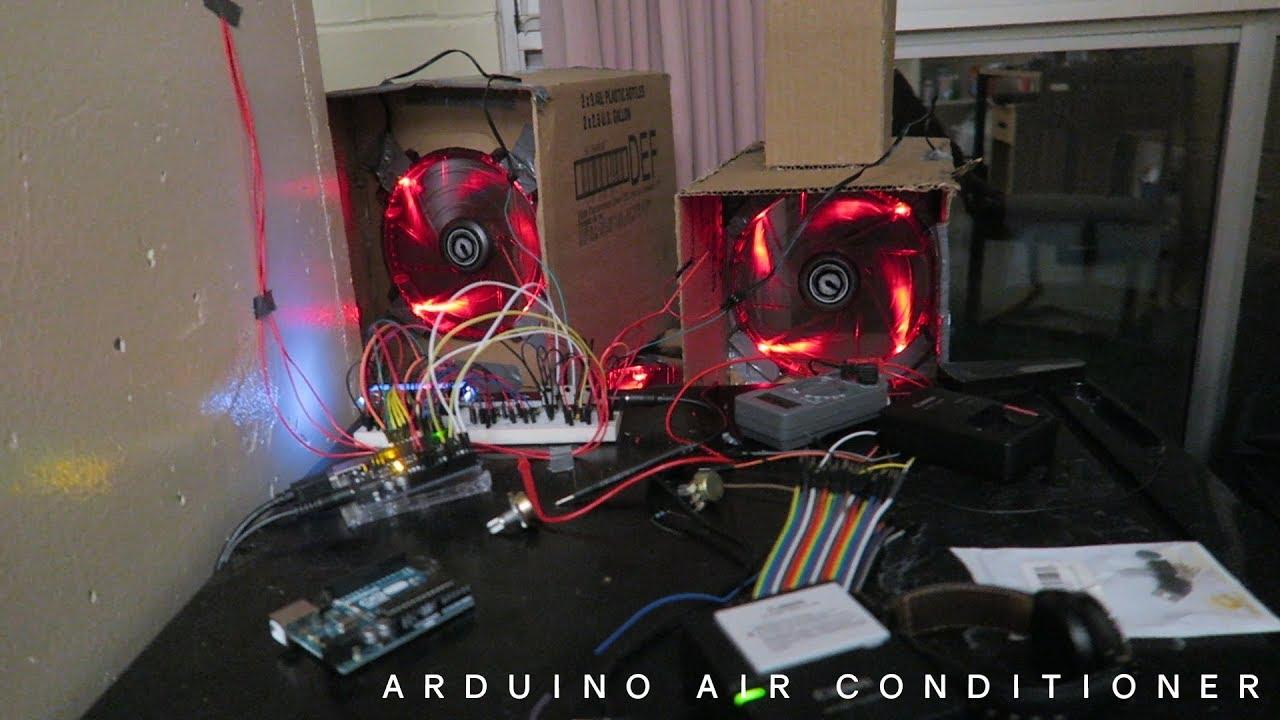 DIY Air Conditioner (Arduino)