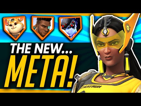 Overwatch | How The Pros Are DESTROYING The Meta! - Symmetra Flying Bunker, Triple DPS and More! thumbnail