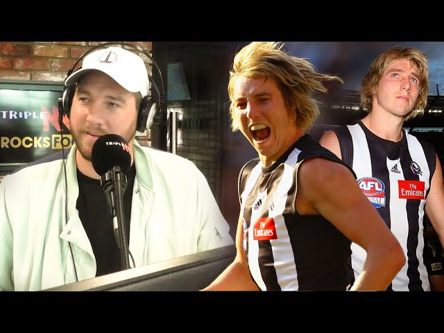 Daisy On The 2010 Flag, 2011 Heartbreak & Shows Off His Medal To Joey! | Triple M Footy