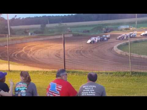 Shadyhill Speedway IMOD 2nd heat August 27th 2016