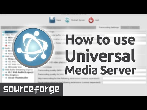How to use Universal Media Server