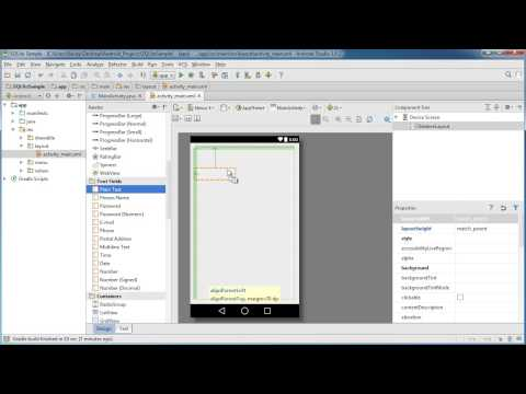 Android App Development For Beginners - 49 - Saving Data With SQLite