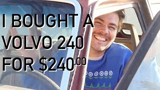 🇸🇪 I bought a Volvo 240 for $240 (How the Volvo Stole Christmas)