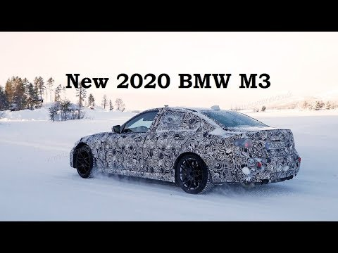 New 2020 BMW M3 Spied - [English]