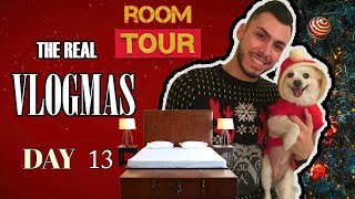 THE REAL VLOGMAS DAY 13🛏 : Σας Ξεναγώ Στο Δωμάτιό Μου Ι Tsede The Real