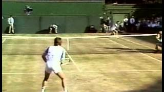 Pat Cash d. Jimmy Connors  -Wimbledon 1987 Semi-Final (Part 1)