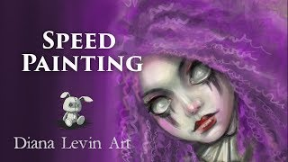Speed Painting - Banshee of the Dark Carnival
