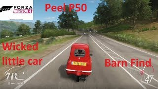 Forza Horizon 4-Peel P50 Gameplay (Barn Find Car)