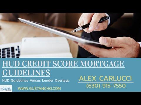 HUD Credit Score Mortgage Guidelines