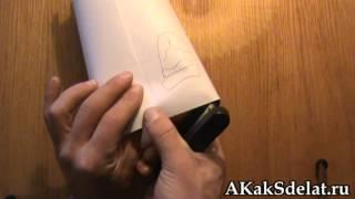 Как из бумаги сделать замок(Как сделать из бумаги замок. Остальные поделки на http://AKakSdelat.ru/ . . . . Как сделать из бумаги замок, Как из..., 2012-07-01T07:36:41.000Z)