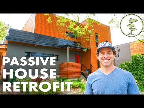 1950s Home Retrofit to Super Efficient Passive House - Urban Green Building