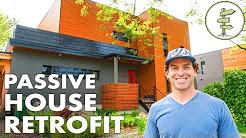 1950s Home Retrofit to Super Efficient Passive House - Urban Green Building