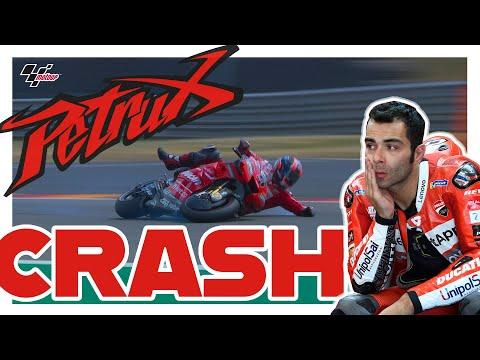 Danilo Petrucci's Qualifying Crash   MotoGP™#GermanGP 2019