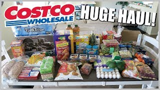 HUGE COSTCO GROCERY HAUL 2018 | FAMILY OF 4