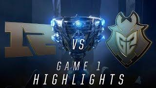 RNG vs G2 - Worlds Quarterfinal Match Highlights (2018)