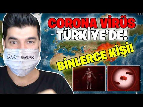 KORONA VİRÜSÜ TÜRKİYE'DE! (Covid 19 Coronavirus)
