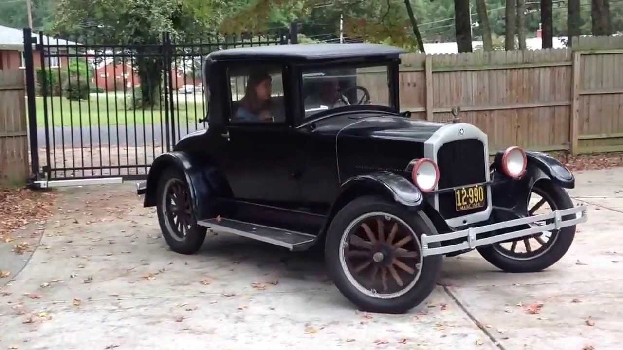 1926 Star R Six Coupe - Durant Motors - YouTube