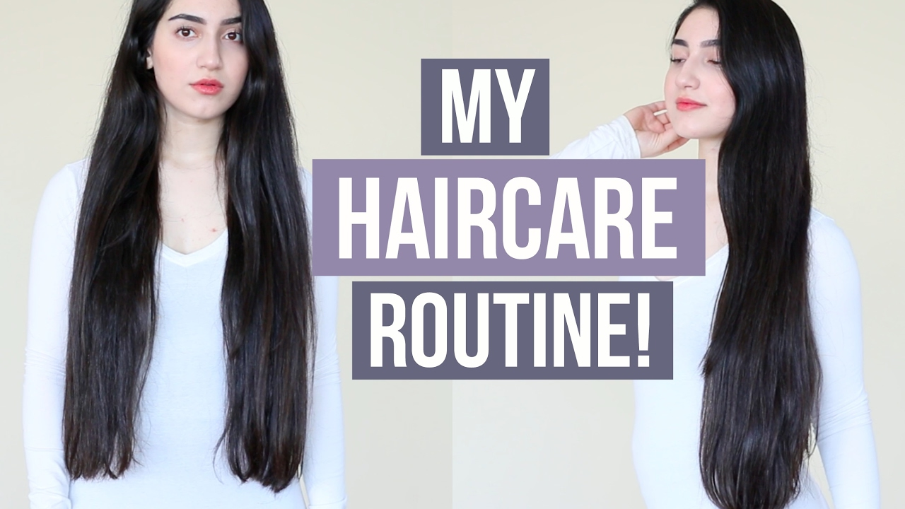 Healthy Hair Styles: MY HAIRCARE ROUTINE For Long & Healthy Hair! (How To Grow