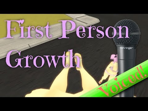 [Sizebox] First Person Giantess Growth - Now listen to me… [VOICED]