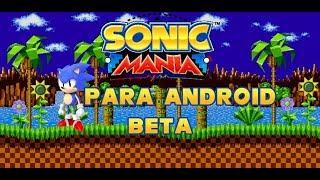 Como Descargar Sonic Mania Para Celular