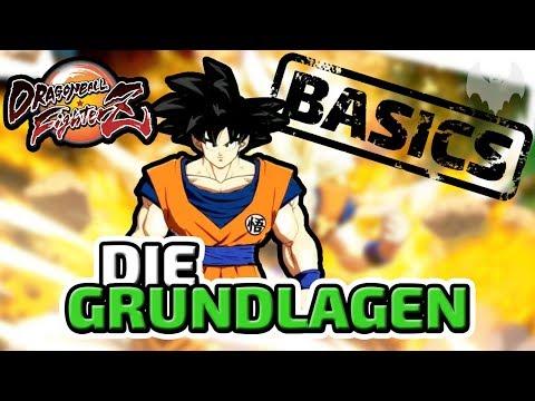 Die Grundlagen - ♠ Dragon Ball FighterZ Tutorial #001 ♠ - Deutsch German - Dhalucard