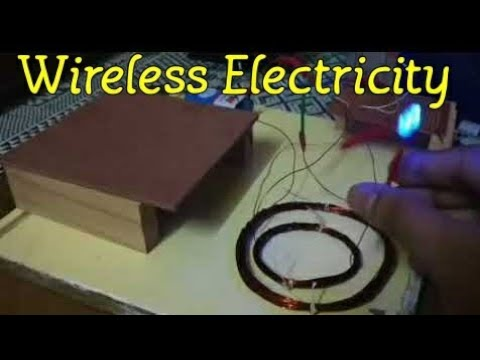 Wireless Power Transmission Circuit using Inductive Coupling | Wireless Electricity |