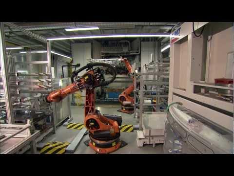 BMW Landshut plant   CFRP Carbon Fiber Reinforced Plastics   manufacturing