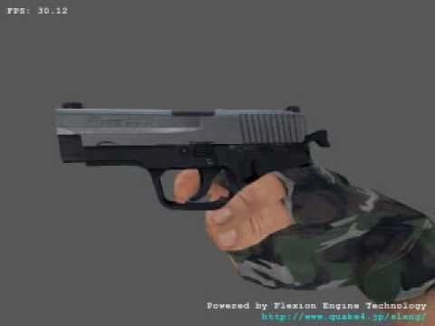 [C/C++/OpenGL] GPU Vertex Skinning (Skeletal Animation) (2006)