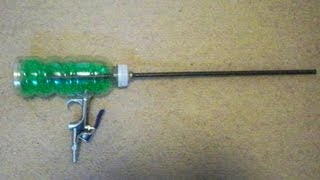 How to Make a Full Auto Airsoft Machine Gun from a Soda Bottle