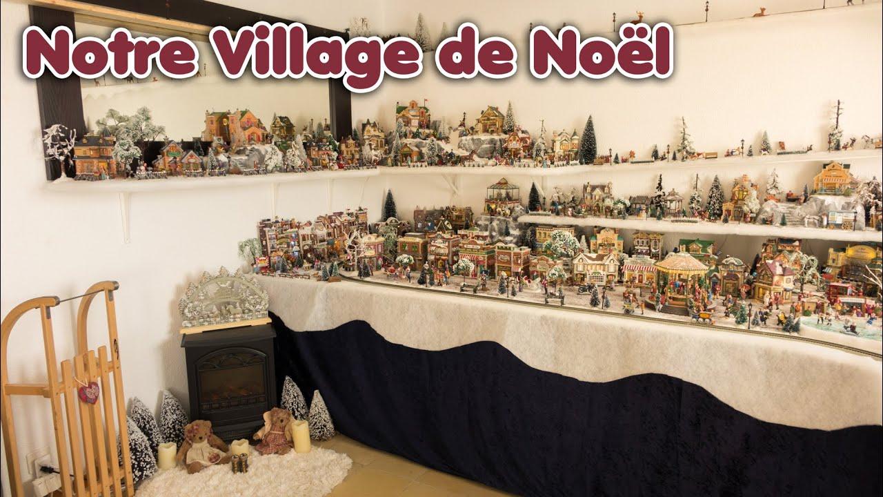 #996632 Notre Village De Noël 2014/2015 / Lemax Luville  6125 decoration de noel village miniature 1920x1081 px @ aertt.com