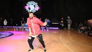 Stratu Andrei | HipHop Solo Male Adults | LT Cup'16 | LithuanianCupTV