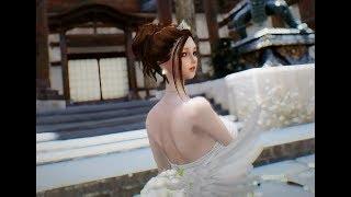 Skyrim Wedding Dress.Skyrim Dance Ff10 Yuna Wedding Dress Smp Ver Dl By Clone Real